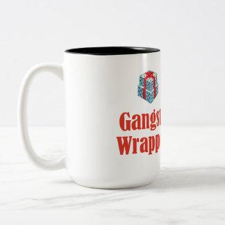 Christmas Gangsta Wrapper Two-Tone Mug