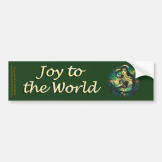 Christmas Mary and Jesus Bumper Sticker