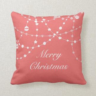 Christmas & New Year Lights Custom Pillow Throw Cushions