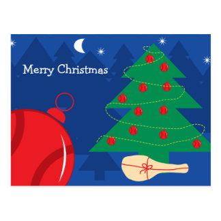 Christmas postcard for tennis players