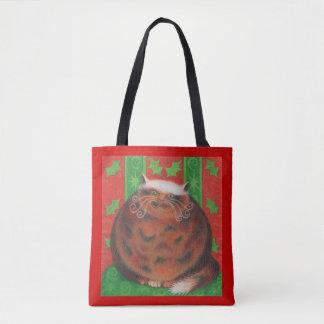 Christmas Pud all over tote bag