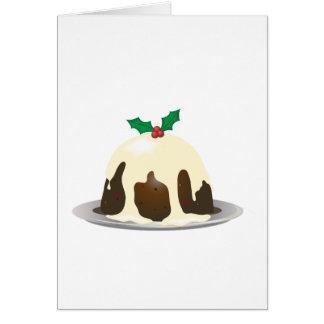 Christmas Pudding Greeting Cards