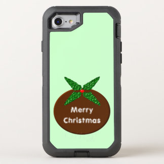 Christmas Pudding Phone OtterBox Defender iPhone 7 Case