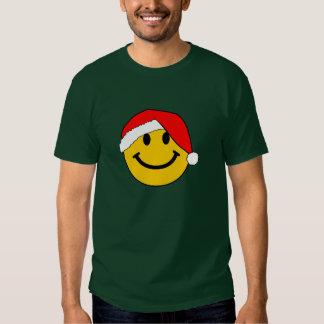 Christmas Santa Smiley Face Shirt