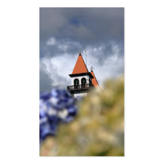 Church at Furnas, Azores - 2012 pocket calendar Pack Of Standard Business Cards