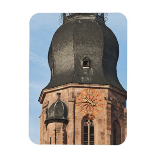 Church of the Holy Ghost in Old Town Heidelberg Rectangular Photo Magnet