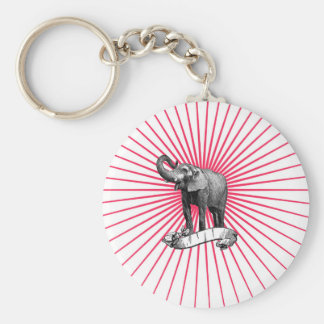 Circus Elephant keychain
