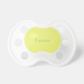 Citrus Yellow Baby Pacifier