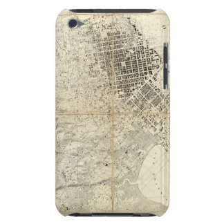 City Of San Francisco And Its Vicinity, California Barely There iPod Cases