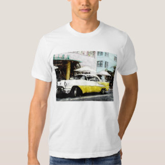 CLASSIC CAR  ALTERED PHOTO T-SHIRT
