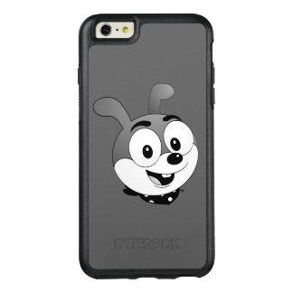 Classic Cartoon Bunny Head Dark grey OtterBox iPhone 6/6s Plus Case
