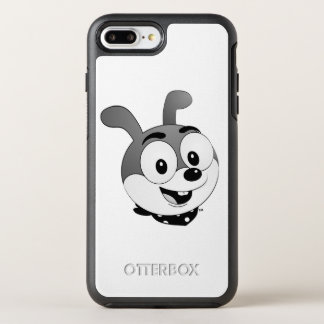 Classic Cartoon Bunny Head White OtterBox Symmetry iPhone 7 Plus Case