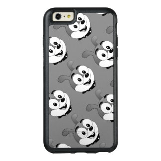 Classic Cartoon Bunny Heads Light Grey OtterBox iPhone 6/6s Plus Case
