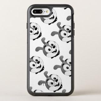 Classic Cartoon Bunny Heads White OtterBox Symmetry iPhone 7 Plus Case