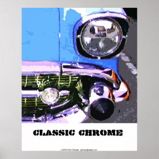 Classic Chrome Poster