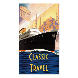 Classic Cruise Ship Travel Pack Of Standard Business Cards