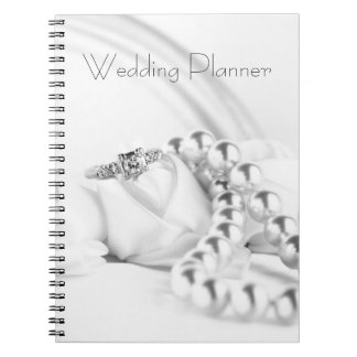 Classic Engagement Ring Wedding Planner Notebook