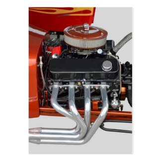 Classic Hot Rod Engine Pack Of Chubby Business Cards