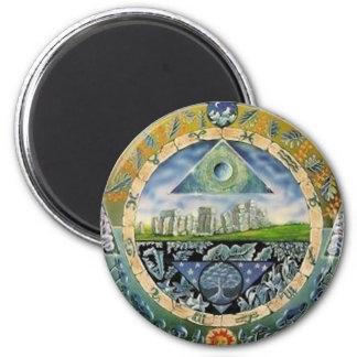 Classic Paranoia 6 Cm Round Magnet