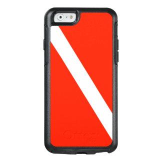 Classic Scuba Dive Flag OtterBox iPhone 6/6s Case