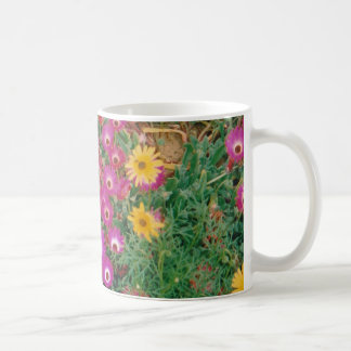 Classic White Mug floral