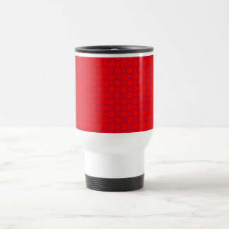 Classical light red and purple Travel Mug