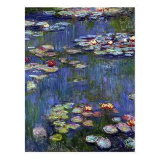 Claude Monet Water Lilies Postcard