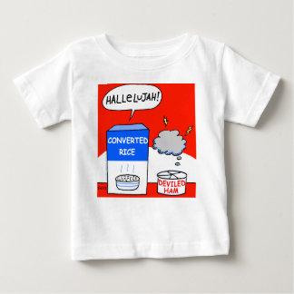 Clean Funny Evangelical Christian Cartoon Baby Tshirt