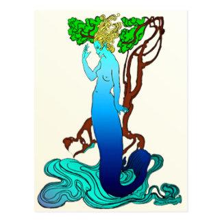 Clerk Colvill and the Mermaid Postcard