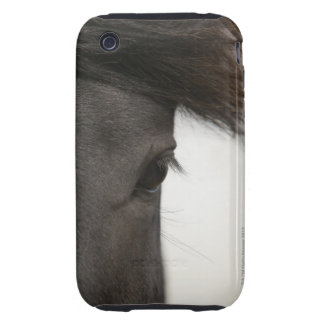 Close-up of  horse eye and hair tough iPhone 3 covers