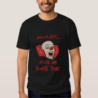 Clowns Can Smell Fear Tshirt