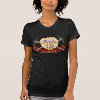 Club 49 Ladies Hoody Twofer Long Sleeve (Fitted)