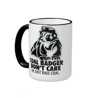 COAL BADGER RINGER MUG