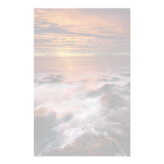 Coast Of The Natural Park Of Cabo De Gata Personalized Stationery