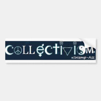 Coexist Collectivism Bumper Sticker