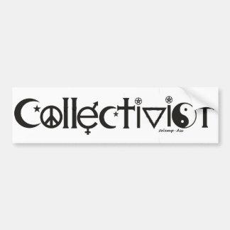 Coexist Collectivist Commie Ayn Atlas Shrugged Bumper Sticker