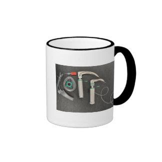 Coffee Anaesthesia Style Ringer Mug