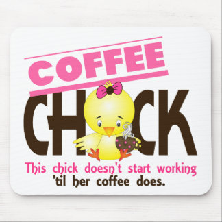 Coffee Chick 3 Mouse Pad
