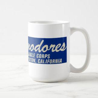 Coffee Mug-Bumper Sticker of Stockton Commodores Basic White Mug