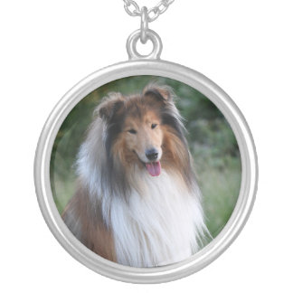Collie  dog necklace gift idea
