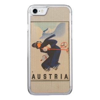 Color - Austria Ski Phone Carved iPhone 7 Case