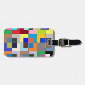 COLOR Maze  : Happy Graphics Bag Tag