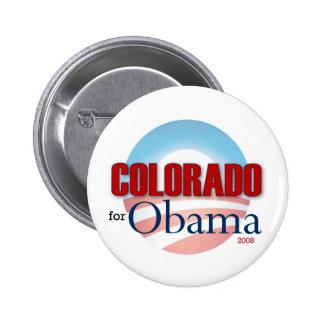 Colorado for Obama 6 Cm Round Badge