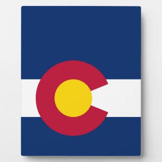 Colorado State Flag Plaque