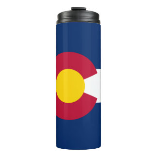 Colorado State Flag Thermal Tumbler