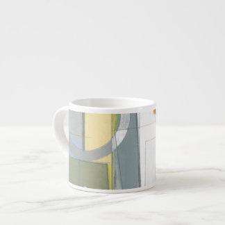 Colorful Abstract Geometric Shapes Espresso Mug
