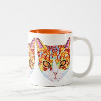 Colorful Cat Mug
