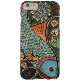 Colorful Decorative Mosaic Flowers Fish Art Design Barely There iPhone 6 Plus Case