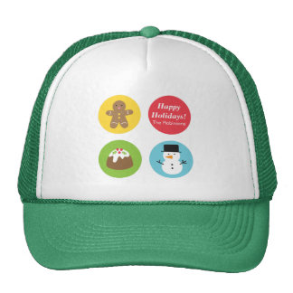 Colourful and Cute, Merry and Bright Christmas Cap