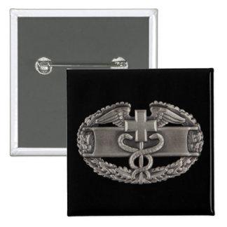 Combat Medic 15 Cm Square Badge